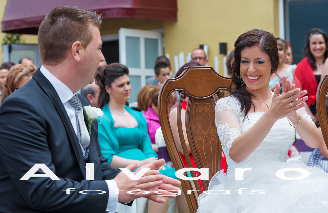 ceremonia novios