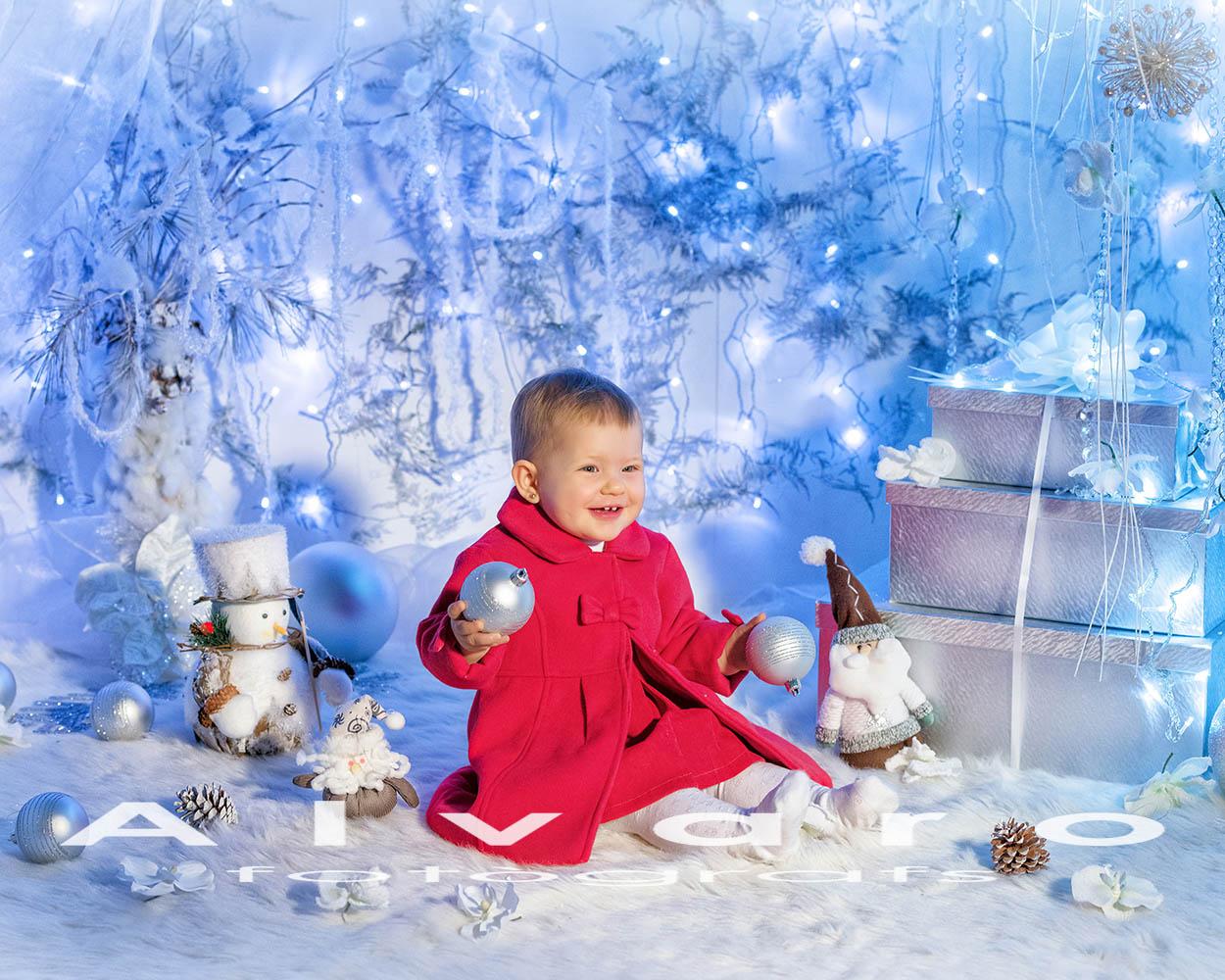 decorado navidad blanco