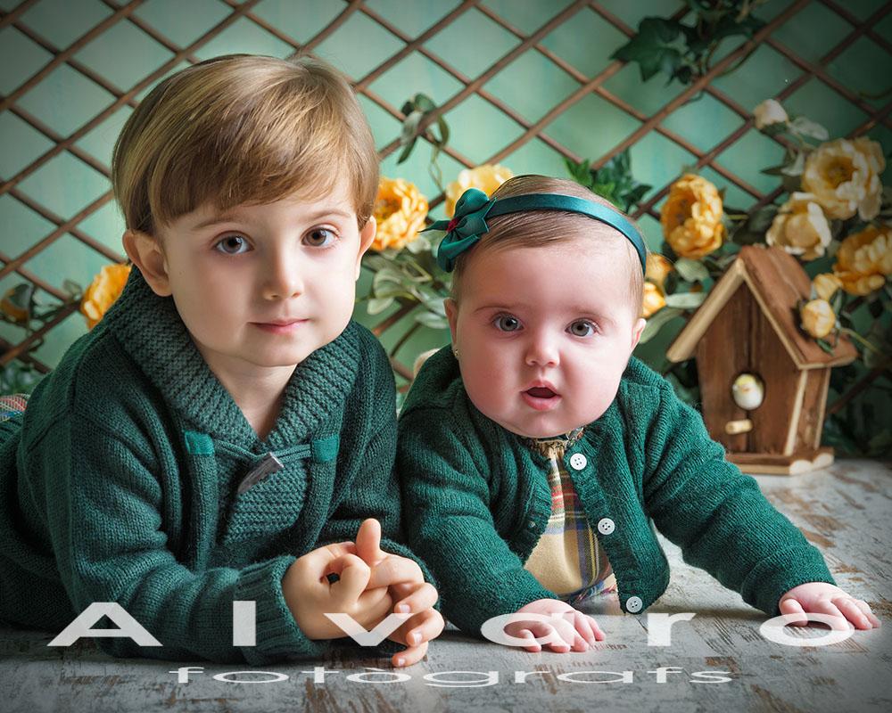 sesión fotos niños